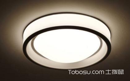 吸頂燈尺寸的選擇,如何選擇合適的燈具?