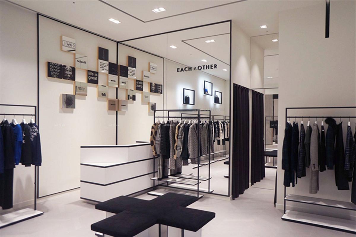 时尚服装店装修图片,受人欢迎的服装店案例赏析