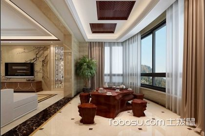 中式风格阳台装修设计图,让生活变得更有情调