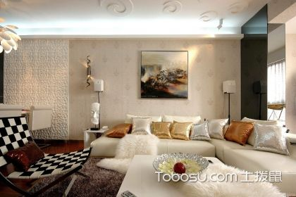 婚佃农厅装潢图片,婚房的客厅装潢的重视事项