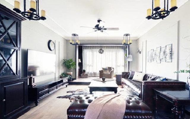 130平二手房装修,展现精致的生活空间
