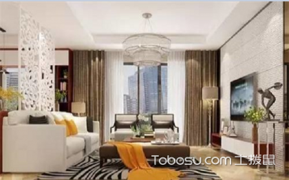 新房装修效果图客厅,美观兼实用的设计