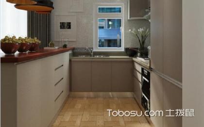小户型半开放式厨房,四套案例欣赏