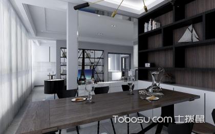 现代简约黑白灰大平层装修效果图,经典的时尚感