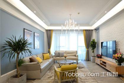 带阳台的客厅窗帘如何挂?几种窗帘挂法介绍