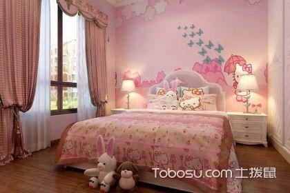 儿童房窗帘布艺效果图,让儿童房变得更加可爱