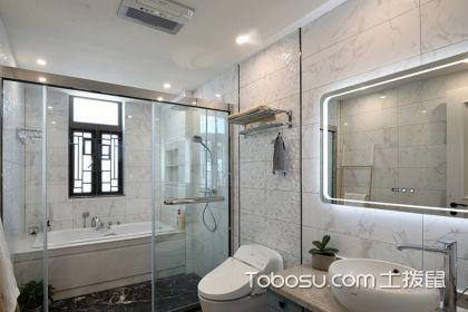 四款卫生间玻璃移门图片,再小的卫浴间也能干湿分离