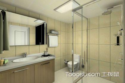2018小戶型衛浴簡單裝修圖片,時尚簡約設計
