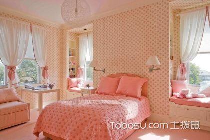 粉色系少女房间装修效果图,唤醒你的少女心