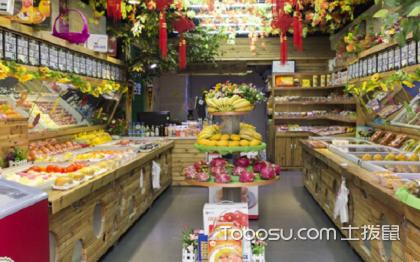 30平米水果店如何设计?自然绿色是关键