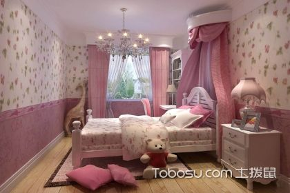 女兒童房間裝飾圖片,巧妙布局溫馨舒適
