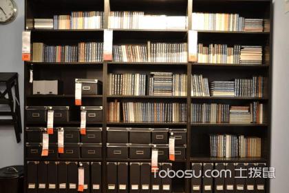 四款书柜书架设计图,不同的设计呈现不同的效果