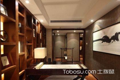中式风格书房装修,中式风格书房效果图赏析