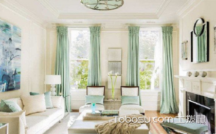 客厅窗帘效果图,你选对了吗?