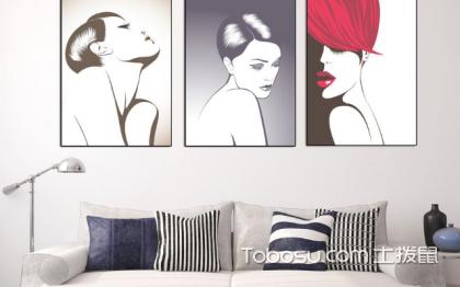 客廳裝飾畫掛什么好?最合適的掛畫選擇