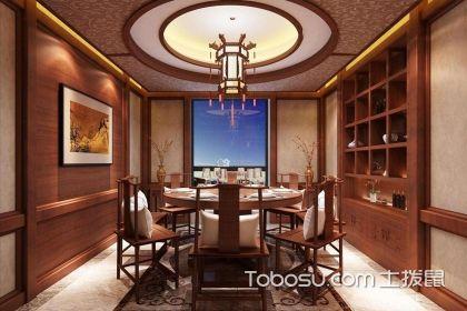 中式餐厅装修效果图,感受优雅的中国风装修