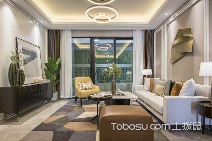 昆明125平現代風格案例,帶您走進樣板間欣賞品位家居