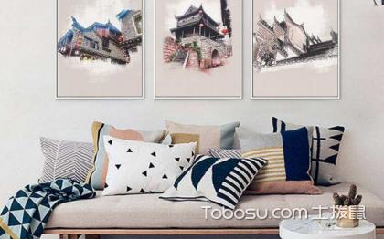 现代简约客厅沙发挂画,这些知识很重要