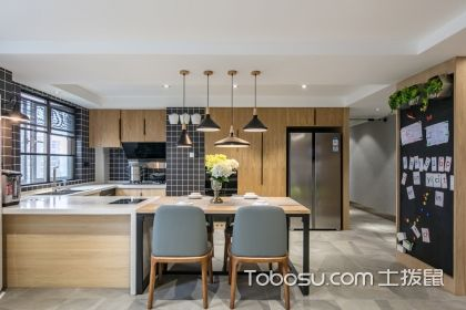 厨房餐厅装修图片,合理设计优化空间