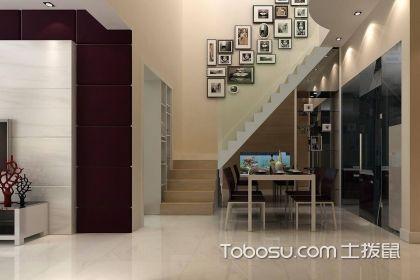 110小户型跃层楼梯装修设计,跃层楼梯的设计有哪些注意事项图片
