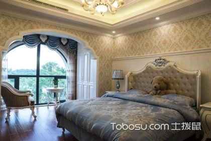 卧室墙布装修效果图,超美的卧室装修案例在这里
