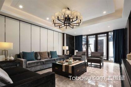 新中式客厅装修图,古典与时尚的结合