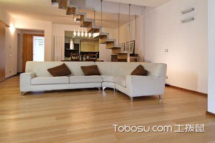 浅色地板装修效果图,好看的地板也可以这样装