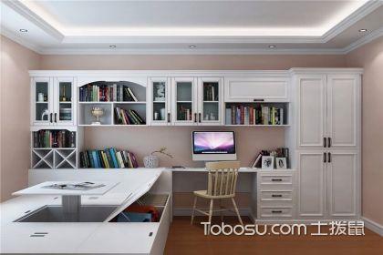 榻榻米书房装修设计图,给你实用又美观的书房设计图片