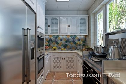 三室一厅厨房装修效果图欣赏,让你心动的厨房设计