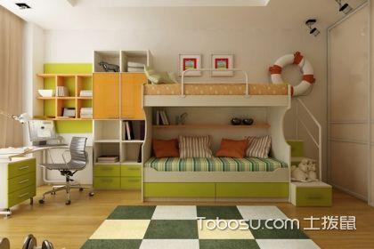 小房间的儿童书房设计要点说明,让孩子学习休闲两不误