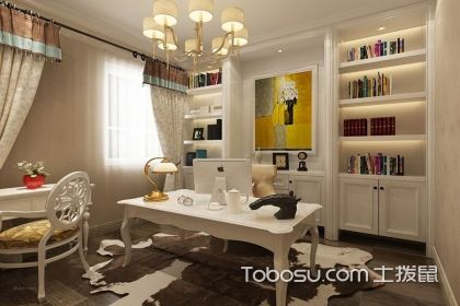 欧式书房设计说明要点介绍,装出你的品味书房