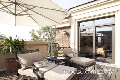 露天阳台装修效果图,享受惬意悠闲的美好时光