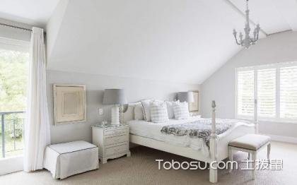 白色卧室装修效果图,时尚与实用并存