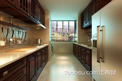 中式厨房装修效果图,中式厨房设计如何选择橱柜