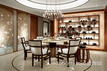 中式餐厅装修图,中式餐厅的风水讲究有哪些