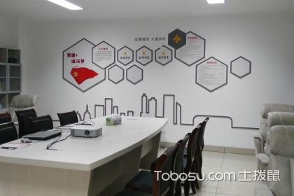 办公室怎么装修?办公室文化墙图片的重要性解析