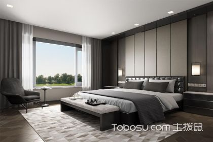 现代卧室装修图片,给你一个简约舒适的休憩空间