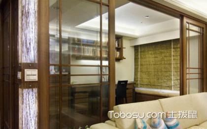 中式客厅书房装修效果图,双重空间打造