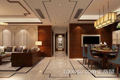 130平米新中式风格设计案例,别样的中式韵味