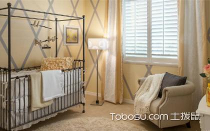 嬰兒臥室裝修效果圖,男孩女孩都合適
