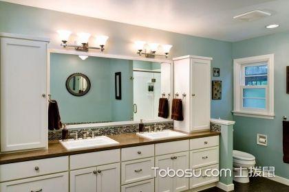 美式田园风格卫生间装修效果图,舒适自然你一定会喜欢
