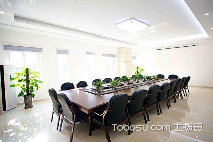 会议室装修效果图,会议室装修设计要点说明