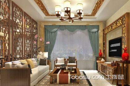 中式客廳吊燈效果圖,你的古樸典雅家居空間