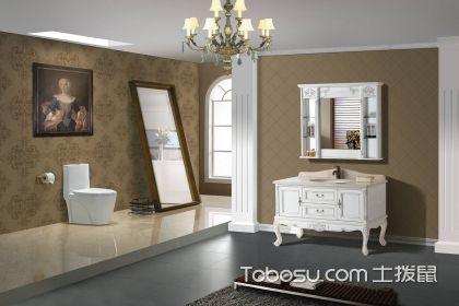 欧式浴室柜如何选购?这四点不容忽视