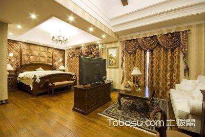 客厅卧室一体效果图,客厅与卧室一体的设计技巧