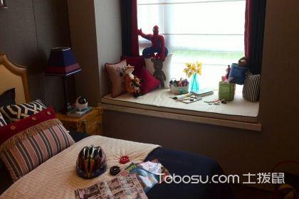 儿童房飘窗台面效果图,让儿童房间与众不同