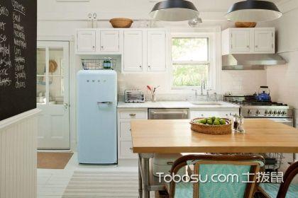 一字型廚房裝修效果圖,一字型廚房設計要點