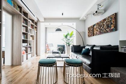 90平現代簡約兩房裝修效果圖案例,溫馨舒適的三口之家