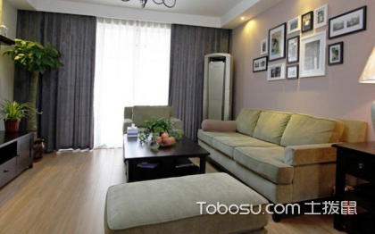 韩式田园客厅装修效果图,最温馨的空间