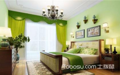 浅绿色卧室u乐娱乐平台优乐娱乐官网欢迎您,用绿色装点自然空间